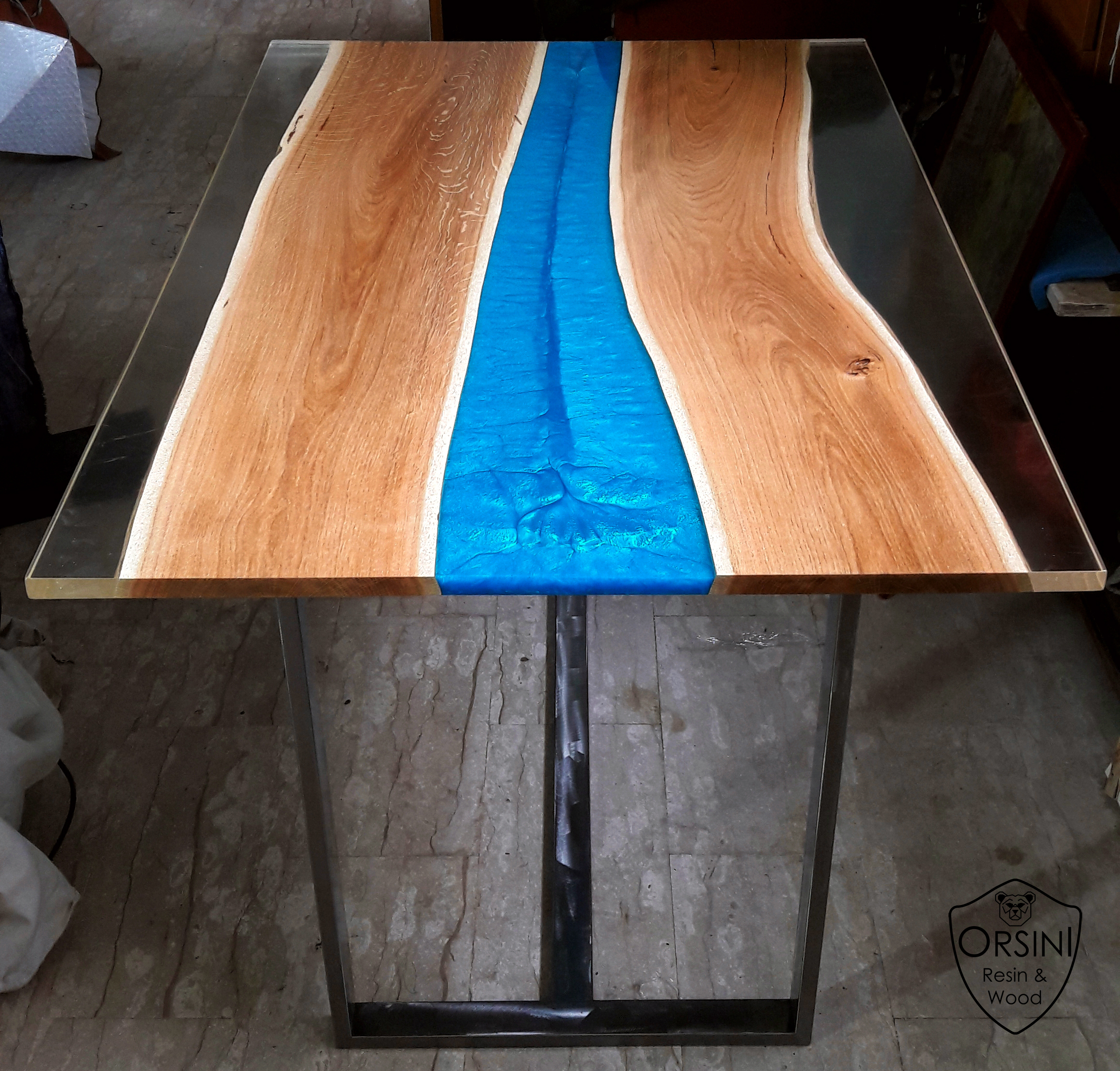 Lavori Orsini Resin Wood Tavoli E Arredamento Legno E Resina